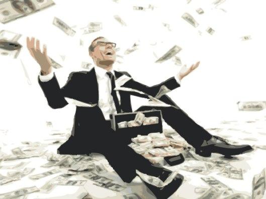 Reichtum: Eine Religion Weniger.